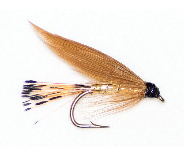Cinnamon gold traditional wet fly from fish fishing flies for Wet fly fishing