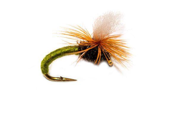 Olive Klinkhammer Trout Fly