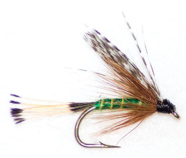 Teal And Green Traditional Wet Fly From The Guys At Fish