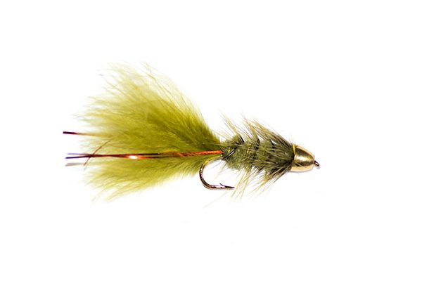 bullet head fishing flies and trout lures