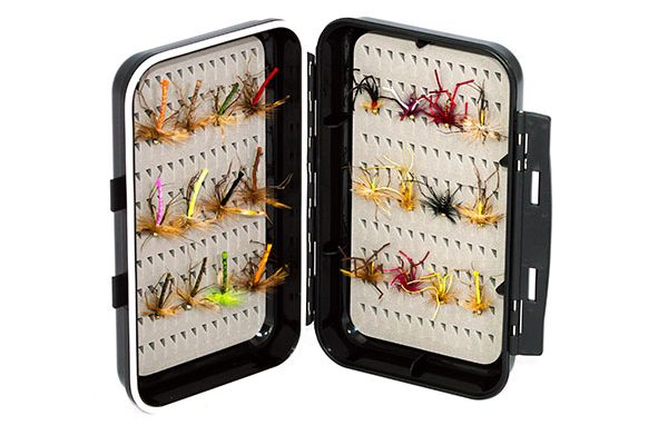 fishing flies 24 daddy long legs with ABS fly box