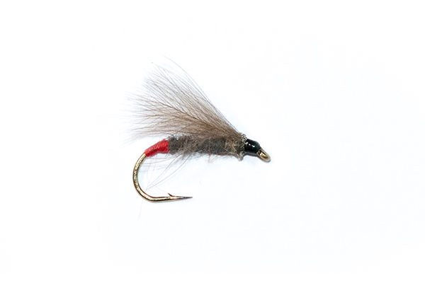 trout fishing flies Red Butt CDC Caddis