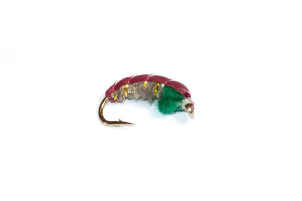 fishing fly Czech Nymph Hares Ear and Green