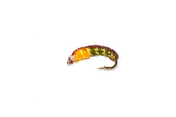 Czech Nymph Olive and Amber