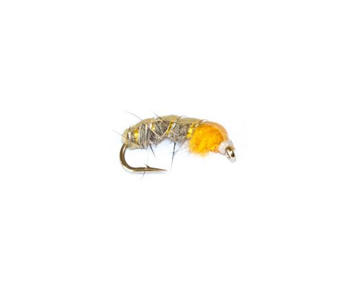 Czech Nymph Ears and Amber fishing fly