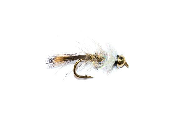 fishing fly gold ribbed hares ear pearly thorax
