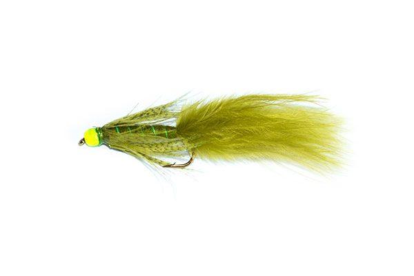 fishing flies Green Hothead Damsel