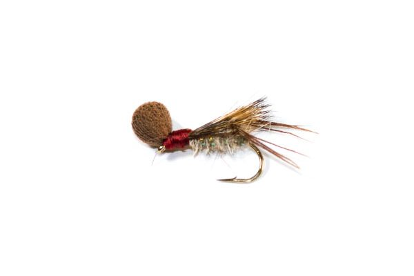 trout fishing flies Redhead Hopper Half Hog Booby Head