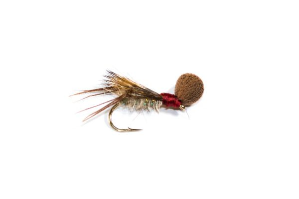 Redhead Hopper Half Hog Booby Head fishing fly