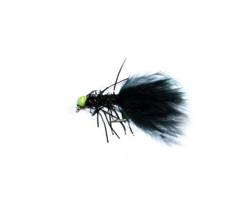 fish fishing flies brand Green Eyed Fritz Black Booby
