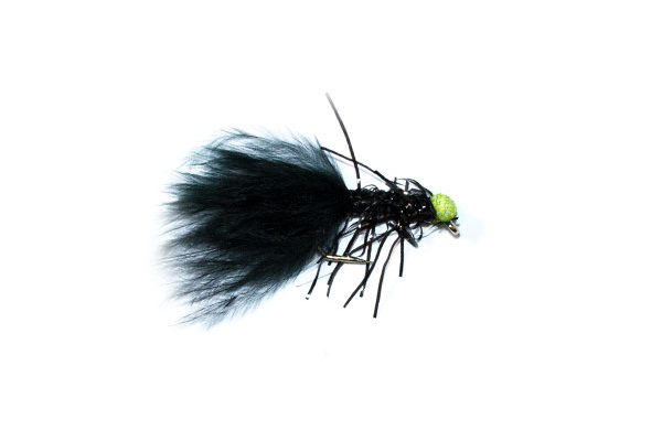 fish fishing flies brand Green Eyed Fritz Black Booby