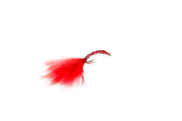 Fish Fishing Flies Red Epoxy Blood Worm