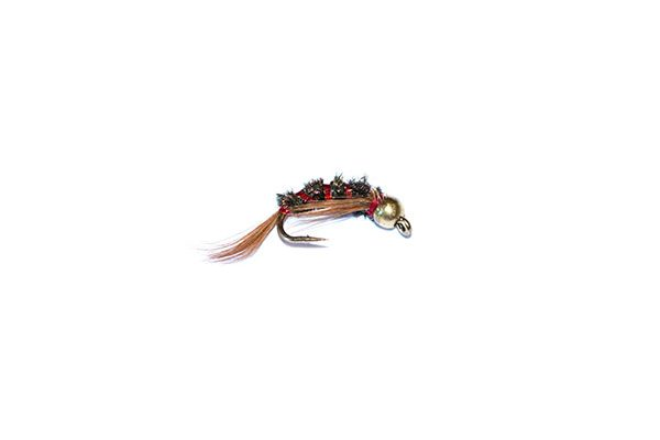 fish fishing flies outstanding value for money and quality. Diawl bach 3d flashy red goldhead nymph.