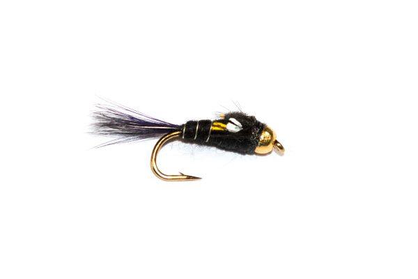 Fish Fishing Flies Trout Fly Range. Black Goldhead SJC Nymph