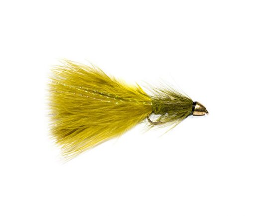 Fish Fishing Flies Damsel Nymph Olive Bullet Head