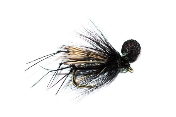 Fish Fishing Flies, Hopper Half Hog Silver Butcher.