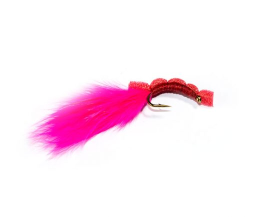 Fish Fishing Flies Pink Floating Bloodworm