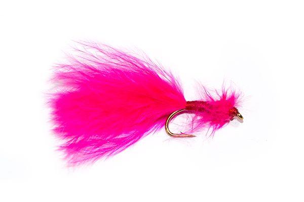 Fish Fishing Flies Pink Marabou Bloodworm