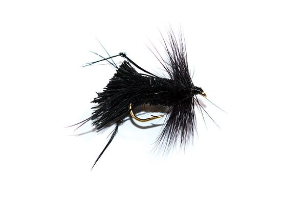 Fish Fishing Flies Black Deer Hair Sedge Hopper