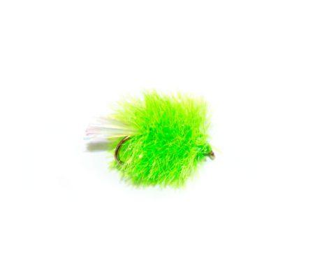 Fish Fishing Flies Lime Green Blob Trout Fishing Fly.