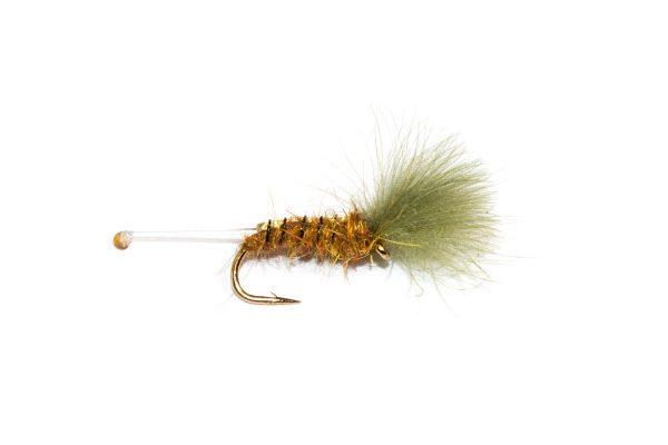 Fish Fishing Flies little bee nylon tail CDC.