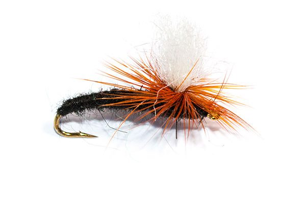 Fish Fishing Flies Black Parachute Emerger