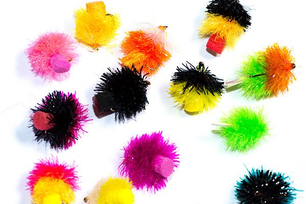 Highest Quality Fishing Flies Blob & Foam Blob Mixed Pack