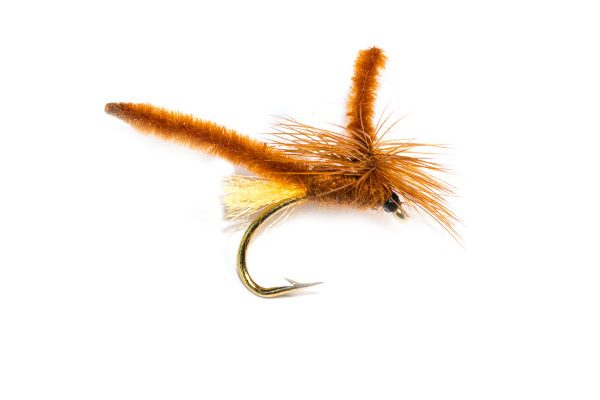 Fishing Flies Dry Parachute Brown Midge