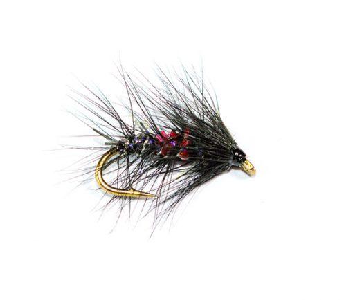 Fish Fishing Flies, Straggle Fritz Bibio Wet