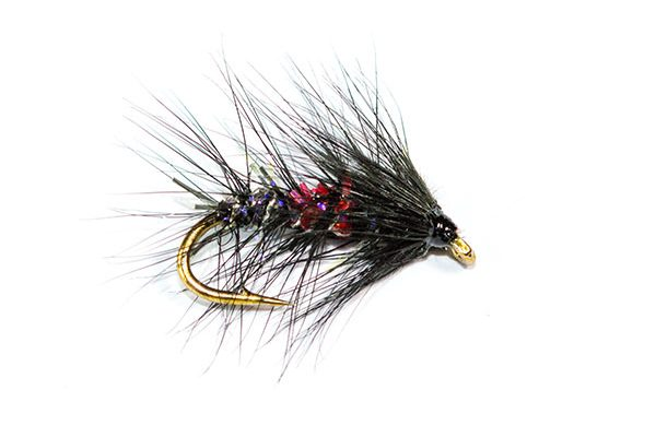 Fish Fishing Flies, Straggle Fritz Bibio Wet