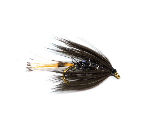 Fish Fishing Flies Brand, Straggle Fritz Black Pennell Wet