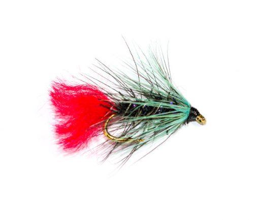 Fish Fishing Flies, Straggle Fritz Blue Zulu Wet