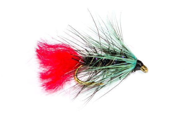 Fish Fishing Flies, Straggle Fritz Blue Zulu Wet