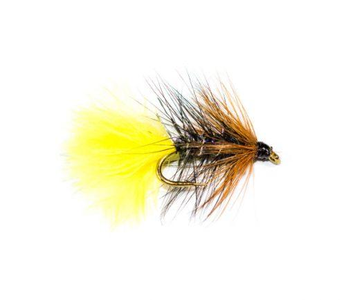 Fish Fishing Flies Brand Quality, Straggle Fritz Kate McLaren Sunburst Wet