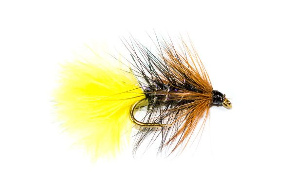Fish Fishing Flies Brand Quality, Straggle Fritz Kate McLaren Sunburst Wet
