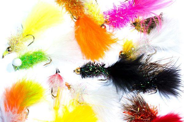 Fish Fishing Flies mixed Fritz type fishing flies pack