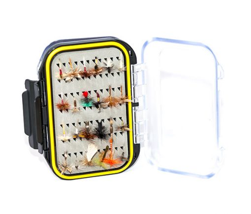 Beginners Fishing Fly BOXED Selection with additional 12 FREE Flies