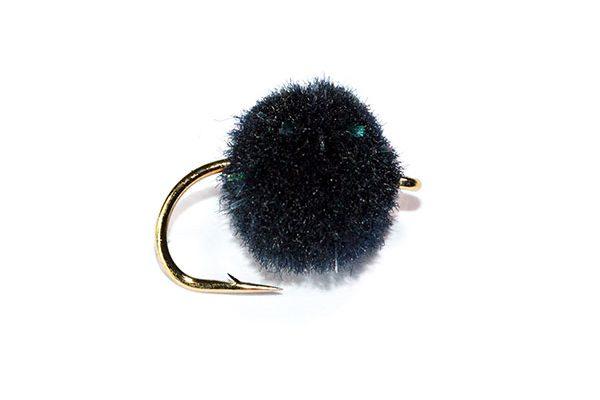 Fish Fishing Flies Black Crystal Egg