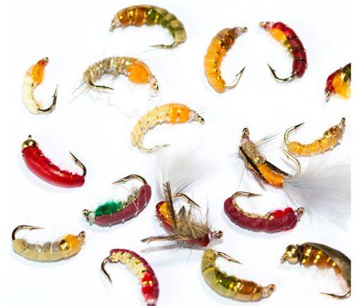 Fish Fishing Flies Czech Nymph Mixed Fly Pack