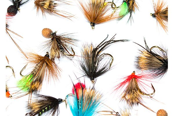 Fish Fishing Flies Hopper Half Hog & Booby Hopper Mixed Fly Pack