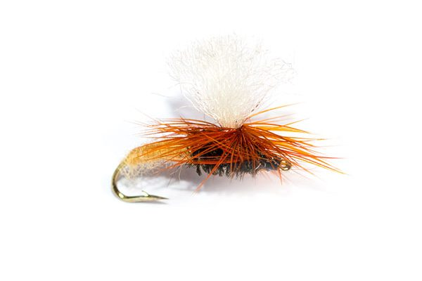 Premium Quality Trout Fishing Flies, Light Brown Klinkhammer Emerger