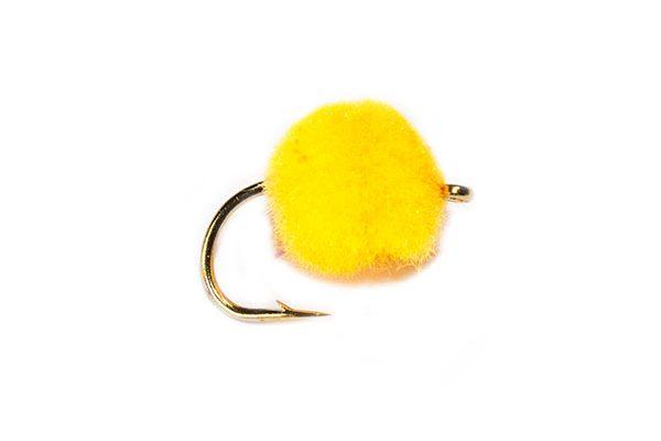 Trout Fishing Flies, Orange Crystal Egg