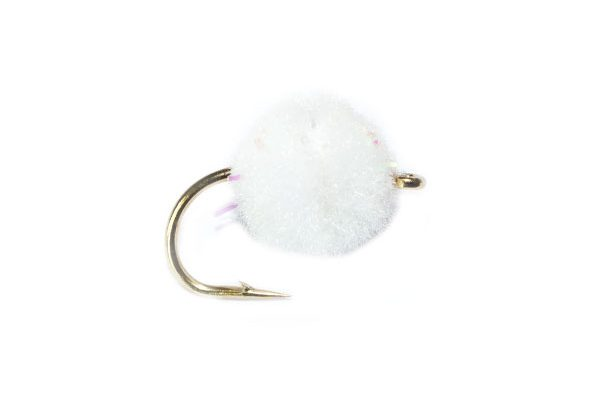 White Crystal Egg Trout Fishing Flies