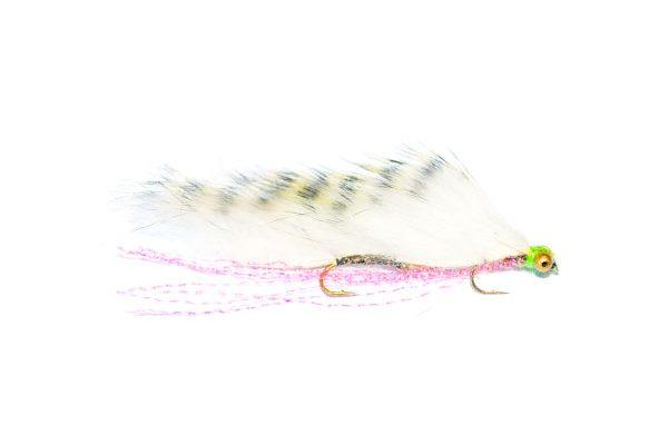 Fish Fishing Flies, White Striped Snake