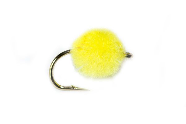 Yellow Crystal Egg Fishing Fly