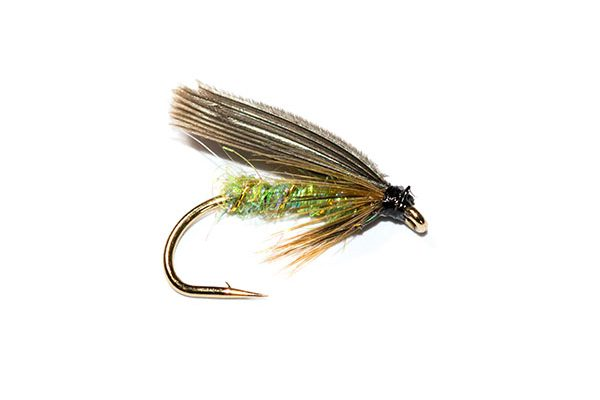 Fish Fishing flies brand, Greenwells Pearly Body