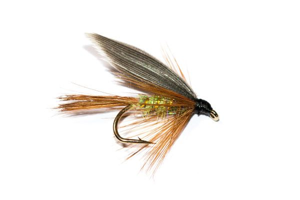 Fish Fishing Flies Brand, Hares Ear Pearly Body