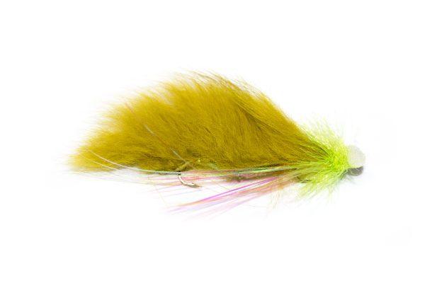 Olive Booby Snake Lurex Flash
