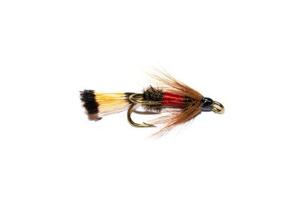 Royal Coachman Double Wet Fly, Fish Fishing Flies Brand