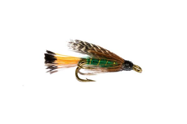 Teal & Green Double Wet Fly, Fish Fishing Flies Brand.
